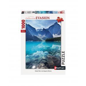 Nathan puzzles - 87457 - Puzzle N 1000 pièces - Massif des montagnes bleues (461676)