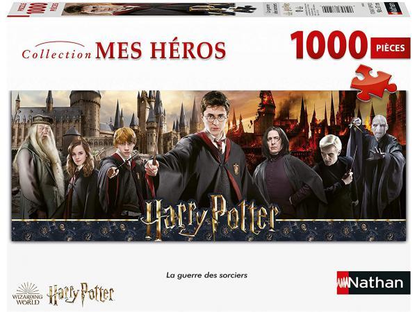 Puzzle n 1000 pièces - la guerre des sorciers / harry potter