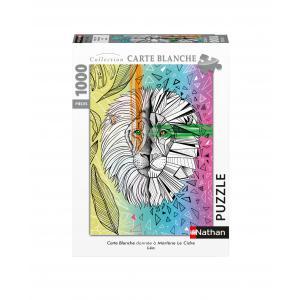 Nathan puzzles - 87647 - Puzzle N 1000 pièces - Léo / Marlène Le Cidre (Collection Carte blanche) (461684)