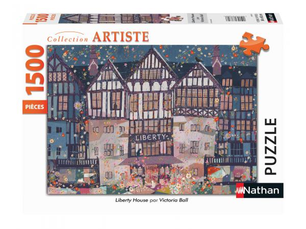 Puzzle n 1500 pièces - liberty house / victoria ball