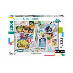 Disney - 87887 - Puzzle N 2000 pièces - Scrapbooking Disney (461704)