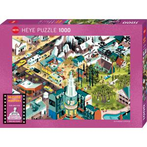 Heye - 29949 - PUZZLE 1000 pièces - MOVIE MASTERS TARANTINO FILMS (461742)