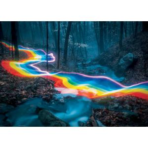 Heye - 29943 - PUZZLE 1000 pièces - MAGIC FOREST RAINBOW ROAD (461754)