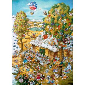 Heye - 29962 - PUZZLE 1000 pièces - PARADISE IN SUMMER (461804)