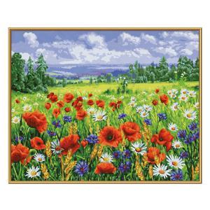 Schipper - 609130824 - Peinture aux numéros - Wildflower meadow 40x50cm (461812)