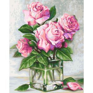 Schipper - 609240828 - Peinture aux numeros - Roses for you 24x30cm (461822)