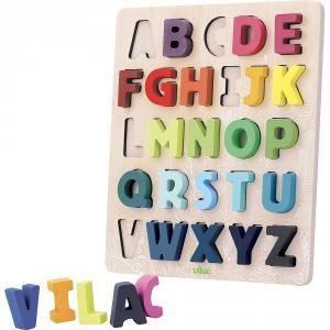 Vilac - 2738 - Puzzle ABC Alphabet à encastrer Sous la Canopée (461844)