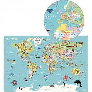 Vilac - 7612 - Carte du Monde magnétique Ingela P.A (461872)
