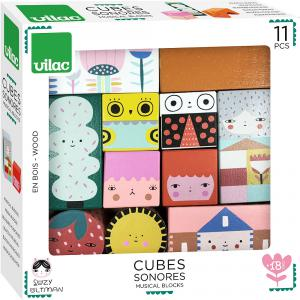 Vilac - 8910 - Cubes sonores Suzy Ultman (461920)