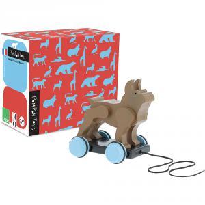 Vilac - 9102 - Jouet à trainer chien Pompon (461930)