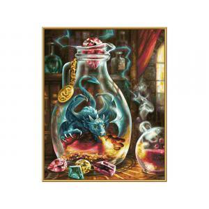 Schipper - 609130845 - Peinture aux numeros - Le dragon 40x50cm (462020)