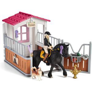 Schleich - 42437 - Box pour chevaux avec Horse Club Tori & Princess (462042)