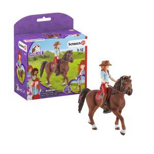 Schleich - 42539 - Horse Club Hannah & Cayenne (462082)