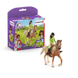 Schleich - 42542 - Horse Club Sarah & Mystery (462088)