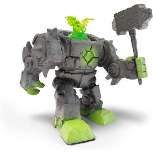 Schleich - 42547 - Cyborg de pierre des Eldrador Mini Creatures (462094)