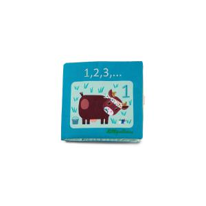 Lilliputiens - 83274 - 1,2,3, … Livre à compter (462242)