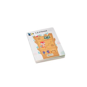 Lilliputiens - 83227 - 1,2,3 FORÊT Mon premier livre puzzle (462320)