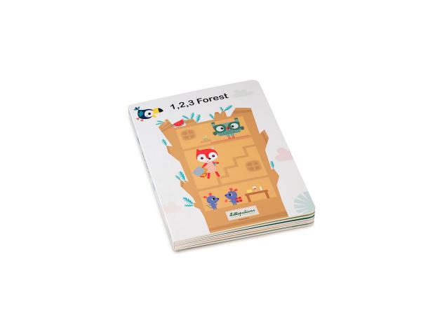 1,2,3 forÊt mon premier livre puzzle