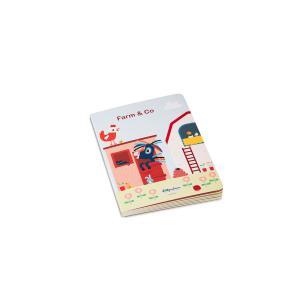 Lilliputiens - 83226 - FARM & CO Mon premier livre puzzle (462394)