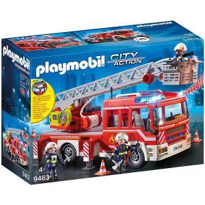Playmobil - 9463 - Camion de pompiers avec échelle pivotant (462440)