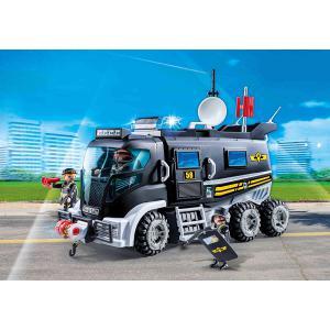 Playmobil - 9360 - Camion policiers élite sirène gyrophare (462464)