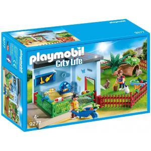 Playmobil - 9277 - Maisonnette des rongeurs et lapins (462474)