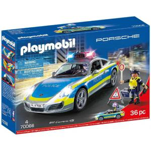 Playmobil - 70066 - Porsche 911 Carrera 4S Police (462496)
