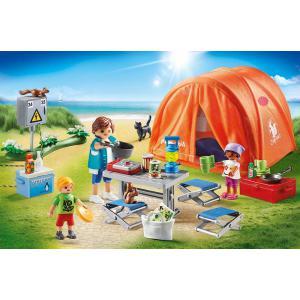 Playmobil - 70089 - Tente et campeurs (462506)