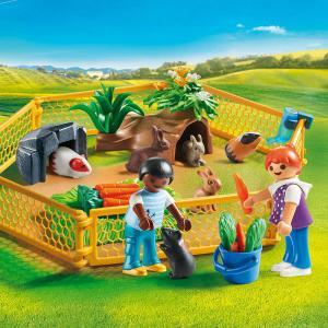 Playmobil - 70137 - Enfants avec petits animaux (462550)