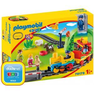 Playmobil - 70179 - Train avec passagers et circuit (462572)