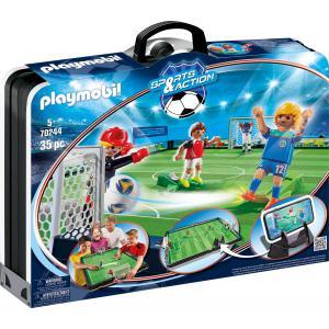Playmobil - 70244 - Grand terrain de football transportable (462648)