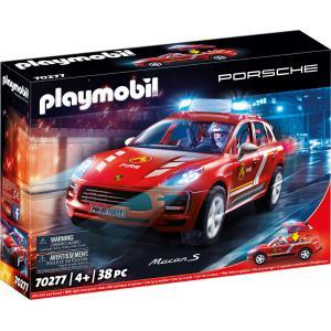 Playmobil - 70277 - Porsche Macan S et pompier (462698)