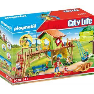 Playmobil - 70281 - Parc de jeux et enfants (462702)