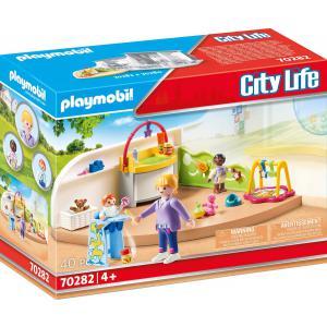 Playmobil - 70282 - Espace crèche pour bébés (462704)