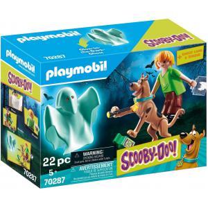 Playmobil - 70287 - SCOOBY-DOO! Scooby & Sammy avec fantôme (462714)