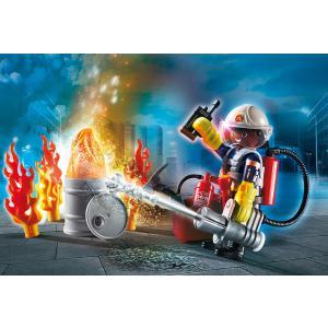 Playmobil - 70291 - Set cadeau Pompier (462718)