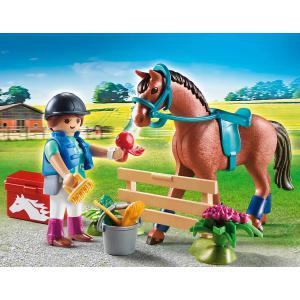 Playmobil - 70294 - Set cadeau Cavalière (462724)