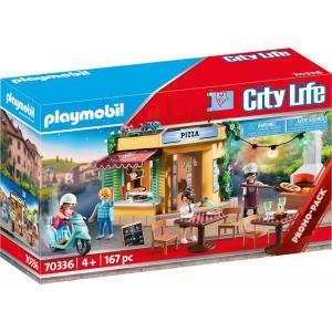 Playmobil - 70336 - Pizzeria avec terrasse (462764)