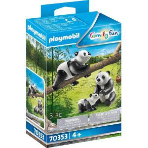 Playmobil - 70353 - Couple de pandas avec bébé (462794)