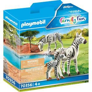 Playmobil - 70356 - Couple de zèbres avec bébé (462800)