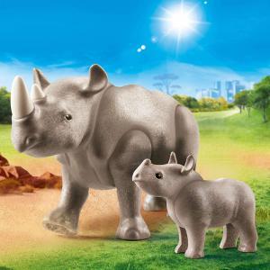 Playmobil - 70357 - Rhinocéros et son petit (462802)
