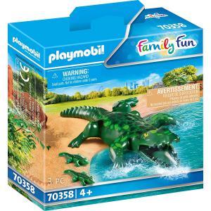 Playmobil - 70358 - Alligator avec ses petits (462804)