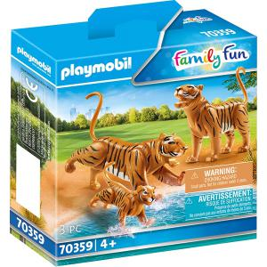 Playmobil - 70359 - Couple de tigres avec bébé (462806)