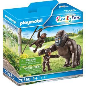 Playmobil - 70360 - Gorille avec ses petits (462808)
