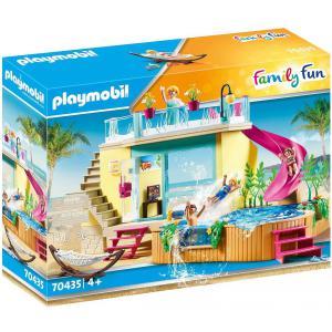 Playmobil - 70435 - Bungalow avec piscine (462864)