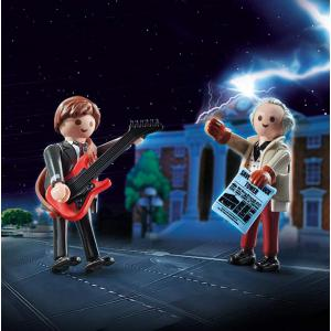 Playmobil - 70459 - Back to the Future Marty et Dr.Brown (462906)