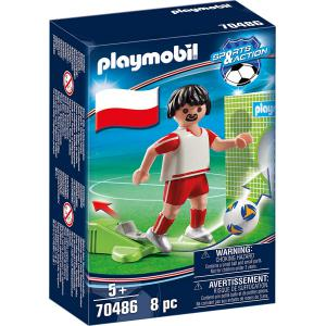 Playmobil - 70486 - Joueur Polonais (462922)