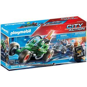 Playmobil - 70577 - Karts de policier et bandit (462998)