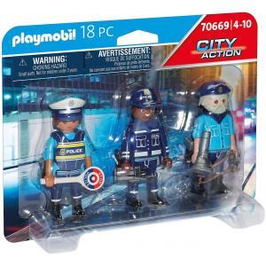 Playmobil - 70669 - Police Equipe de policiers (463060)