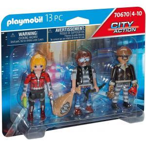 Playmobil - 70670 - Equipe de bandits (463062)